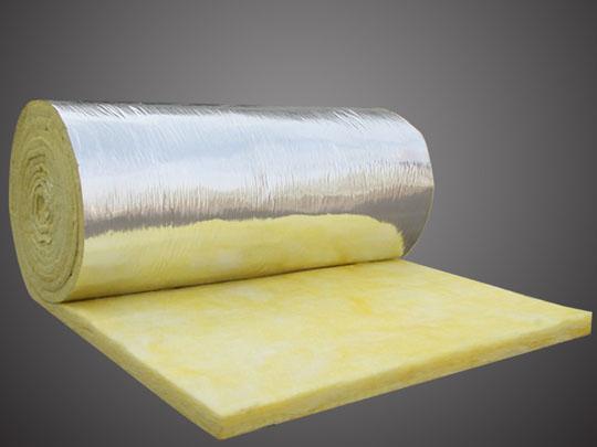 玻璃棉卷毡(复铝箔纸)